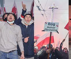 Marsz Niepodległości. Zamieszki w stolicy: zniszczone sklepy, podpalenia, ranni policjanci (ZDJĘCIA)