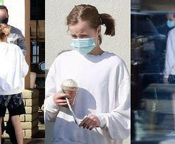 12-letnia córka Angeliny Jolie, Vivienne odwiedza kawiarnię w towarzystwie ochroniarza (ZDJĘCIA)