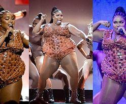 Wyzwolona Lizzo w skórzanym body walczy o samoakceptację na Brit Awards (ZDJĘCIA)
