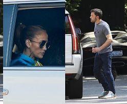 Ben Affleck wozi się autem Jennifer Lopez! (ZDJĘCIA)