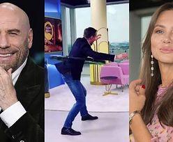 """Kinga """"trzymałam Leo za rękę"""" Rusin zachwyca się zdolnościami Piotra Kraśki: """"Travolta mógłby się od niego uczyć"""""""