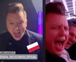 """Eurowizja 2021. Rafał Brzozowski dopinguje sam siebie po występie: """"IT WAS THE RIDE OF MY LIFE"""""""