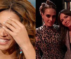 """Oscary 2020. Zadowolona Kinga Rusin pozuje z Adele i wspomina after party: """"Beyonce powiedziała mi, że ją przyćmiłam"""""""