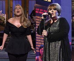 """Odmieniona Adele ZACHWYCA w """"Saturday Night Live"""": """"Zapakowałam tylko POŁOWĘ siebie"""" (ZDJĘCIA)"""