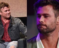 Brat Chrisa Hemswortha nabija się z... NÓG aktora (FOTO)