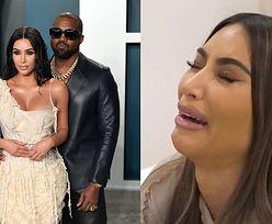 """Kim Kardashian opłakuje rozstanie z Kanye Westem. """"Czuję się jak P*ERDOLONA PORAŻKA"""""""