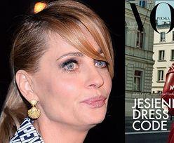 """Niepodobna do siebie Magdalena Boczarska gryzie palec na okładce """"Vogue'a"""". """"Byłam pewna, że to ANETA KRĘGLICKA"""" (FOTO)"""