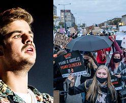 """Taco Hemingway dopinguje protestujące kobiety: """"Krzyczcie, maszerujcie, śpiewajcie, skandujcie"""""""