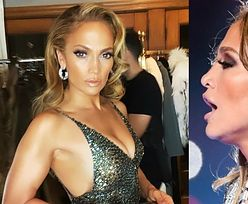 Oscary 2020: Seksowna Jennifer Lopez chwali się zgrabną figurą w powycinanej kreacji (FOTO)
