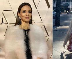 """Oscary 2020: Opierzona Kinga Rusin wspomina zeszłoroczną stylizację i z zadowoleniem wyznaje: """"Tym razem jestem tu PRYWATNIE"""""""