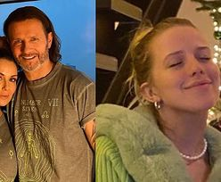 Małgorzata Rozenek i Radosław Majdan pozują w koszulkach OD JESSIKI MERCEDES