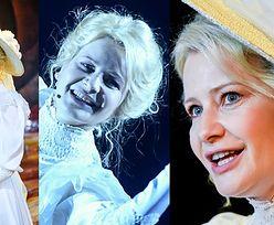 Małgorzata Kożuchowska zadaje szyku w koronkach i kapeluszu na próbach w teatrze (ZDJĘCIA)