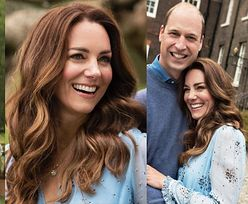 Księżna Kate pozuje do rocznicowych zdjęć w noszonej już sukience i wisiorku za niemal 50 TYSIĘCY ZŁOTYCH!