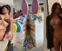Wielkanoc według Kardashianek: kąpiele słoneczne, przymiarki skąpych bikini i fantazyjne wypieki (ZDJĘCIA)