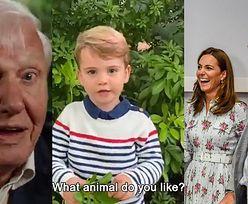 """Dzieci książęcej pary NAKRĘCIŁY FILMIK z Davidem Attenborough! """"Jakie zwierzę według ciebie może wyginąć?"""" (WIDEO)"""