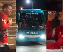 Euro 2020. Polska reprezentacja wróciła do hotelu po porażce ze Słowacją (ZDJĘCIA)