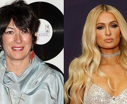 """Ghislaine Maxwell chciała zwerbować Paris Hilton dla PEDOFILA Jeffreya Epsteina! """"Byłaby dla niego idealna!"""""""
