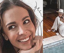 """Anna Wendzikowska obrusza się na sugestię, że siedzi nad """"kiepskim basenem"""": """"To hotsprings! Do tego PRYWATNE"""""""