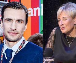 Jarosław Bieniuk wspiera chorą mamę Anny Przybylskiej