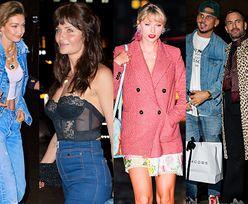 Śmietanka show biznesu na nowojorskich urodzinach Gigi Hadid: Marc Jacobs z mężem, Helena Christensen w seksownej bieliźnie, Taylor Swift z kocią torebką... (ZDJĘCIA)