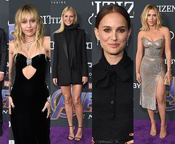 """Tłum gwiazd na premierze """"Avengers: Endgame"""": Scarlett Johansson, Miley Cyrus, Gwyneth Paltrow, Natalie Portman, Bradley Cooper... (ZDJĘCIA)"""