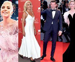 Wenecja 2018: Lady Gaga w piórach, Bradley Cooper i Cate Blanchett zachwycają na festiwalu fimowym (ZDJĘCIA)