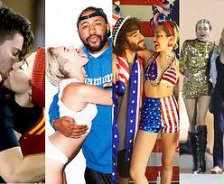Historia związków panseksualnej Miley Cyrus przed ślubem z Liamem Hemsworthem (ZDJĘCIA)