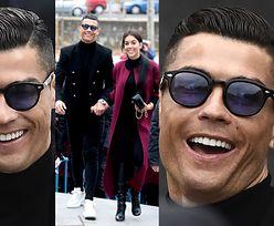 Uśmiechnięty Ronaldo został skazany za oszustwa podatkowe! Do więzienia raczej nie trafi... (ZDJĘCIA)