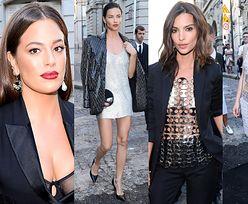 """Wystrojone modelki idą na imprezę """"Vogue'a"""": Graham, Lima, Ratajkowski, młoda Depp, Campbell... (ZDJĘCIA)"""