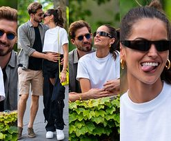"""Zakochany """"aniołek"""" Victoria's Secret zaprosił chłopaka-piłkarza na romantyczną sesję w Central Parku (ZDJĘCIA)"""