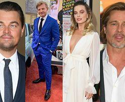 """Tłum gwiazd na premierze """"Pewnego razu w Hollywood"""": Margot Robbie, Brad Pitt, Leonardo DiCaprio, Britney Spears z partnerem... (DUŻO ZDJĘĆ)"""