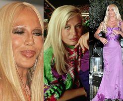 Donatella Versace obchodzi 65. urodziny! Przypomnijmy historię jej SZOKUJĄCEJ metamorfozy (STARE ZDJĘCIA)