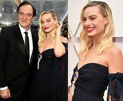 Oscary 2020: Czerwonousta Margot Robbie zadaje szyku w czarnej sukience bez ramion od Chanel (ZDJĘCIA)