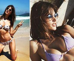 Modelki i celebrytki chwalą się wakacjami na Instagramie (ZDJĘCIA)