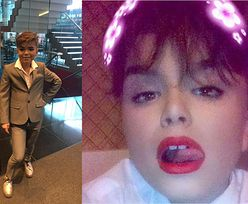 """12-latek, który się maluje i """"chce zostać Kardashianem"""" żali się na """"hejt"""": """"Nie rozumiem dlaczego ludzie są tacy podli"""""""
