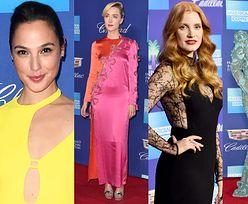"""Hollywoodzkie gwiazdy rozgrzewają się przed """"sezonem nagród"""": Gadot, Chastain, Farrell, Blige, Ronan... (ZDJĘCIA)"""