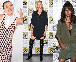 Hollywoodzkie gwiazdy na Comic Con 2017: Halle Berry, Charlize Theron, Cate Blanchett, 67-letnia Sigourney Weaver... (ZDJĘCIA)