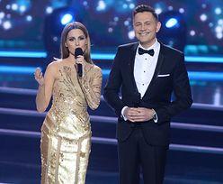 Agnieszka Hyży w trzech sukienkach na gali Miss Polski