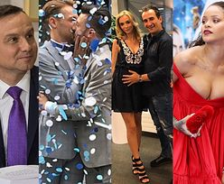 ZDJĘCIA TYGODNIA: Dwa weta prezydenta, ciąża Marceli i ściśnięte piersi Rihanny