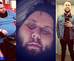 """""""Big Boy"""" z programu """"Gogglebox. Przed telewizorem"""" schudł ponad 130 kilogramów! (ZDJĘCIA)"""