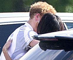 To pierwsze takie zdjęcia: książę Harry i Meghan Markle CAŁUJĄ SIĘ po meczu polo!