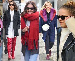 Najciekawsze uliczne stylizacje tygodnia: Lewandowska, Mercedes, Nykiel, Kunis... (ZDJĘCIA)