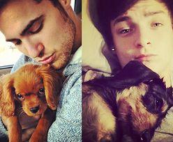 Przystojniacy z Instagrama pozują z psami (ZDJĘCIA)
