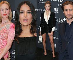 Zagraniczne gwiazdy świętują jubileusz Złotych Globów: Bosworth, Hayek, Gyllenhaal, córki Stallone'a... (ZDJĘCIA)