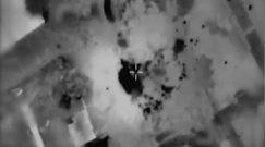 Atak Izraela na siedzibę dowódców Hamasu. Dramatyczne nagranie wojska