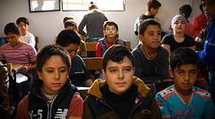 Obóz nauczycieli - jedyna nadzieja na edukację dla syryjskich dzieci