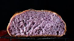 Fioletowy chleb. Idealny dla cukrzyków i na odchudzanie