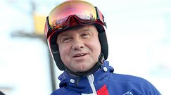 Andrzej Duda szusuje na nartach. Dr Grzesiowski znacząco skomentował