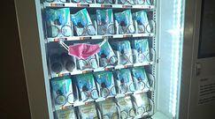 Bezpłatne maski z automatu