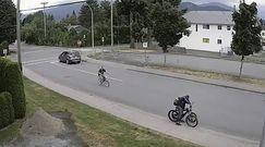 Udaremnił kradzież roweru. Nagranie z Kanady